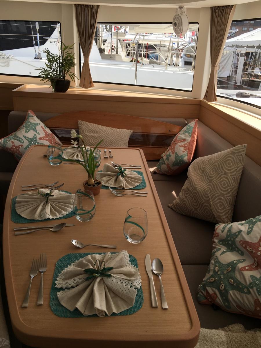 Salon Table Seats 6 - 7